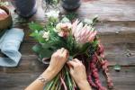 Produkcja bukietów kwiatowych w Holandii!