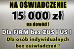 kredyt na OŚWIADCZENIE 15 000 zł NA DOWÓD ! Cała Polska!